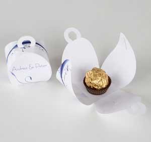 Einmalige Gastgeschenkverpackungen f�r Ihre Hochzeitstafel