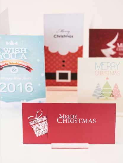 Weihnachtskarten von Dankeskarte.com